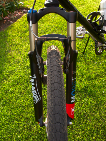 Front view of Magura Odur fork
